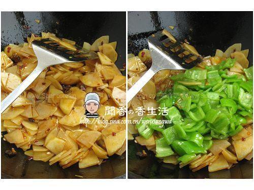 豆豉青椒土豆片