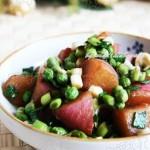 青蒜水萝卜(素菜)