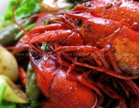 家庭版油焖大虾(荤菜)