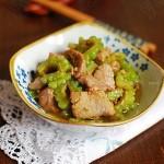 蚝油牛肉炒苦瓜(炒出嫩牛肉的方法)