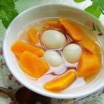 红薯汤圆(早餐食谱)