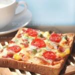 简易披萨(15分钟就能搞定的奢华早餐食谱)