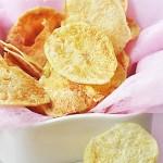 微波炉烤薯片(微波炉自制健康小零食)