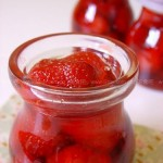 草莓半果酱(水果果酱)