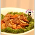黑椒牛柳(荤菜)