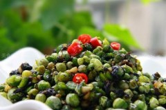橄榄菜豌豆