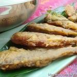 面拖酥鱼(香酥咸鲜的补钙下酒菜)