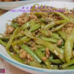 肉末芸豆(快速下饭菜)