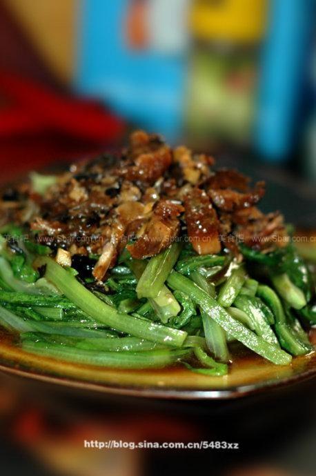 鲮鱼油麦菜