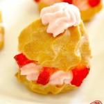 草莓泡芙(早餐食谱)