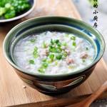 芹菜肉末粥(剩饭速成早餐)