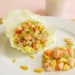麦脆片生菜虾松(减肥食谱)