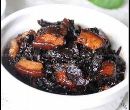 乌干菜焖肉