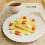 法式煎薄饼(早餐食谱)