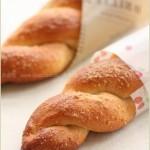 花生杏仁酱面包(早餐食谱-花生酱和面,杏仁粉做皮)