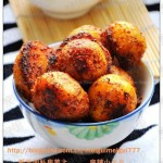 麻辣小土豆和椒盐小土豆(素菜)