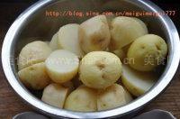 麻辣小土豆和椒盐小土豆