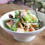 苹果酸奶沙拉(高考食谱-适合考生的菜)