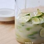 蜜渍青柠檬(自制饮料)
