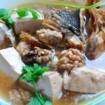 核桃鱼头豆腐汤(高考营养食谱-好吃又补脑)