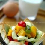 土司色拉碗(早起十分钟就能搞定的营养早餐)