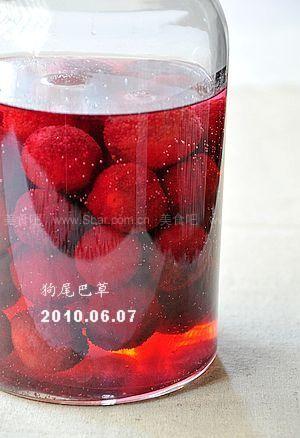 自酿杨梅酒