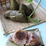 蜜枣八宝粽(如何包粽子-四角粽龙舟粽超清晰超详细大图解)