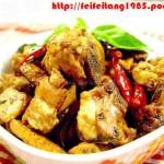 台式三杯鸡(荤菜)