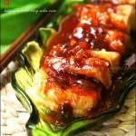 家常豆腐(素菜-脆皮豆腐)