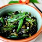 海宁菜炒豆角(素菜)