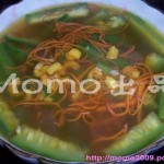 虫草花鸡汁丝瓜汤(营养汤水)
