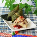 包粽子的方法与步骤(红豆花生杂粮粽子)