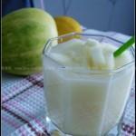 香瓜柠檬汁(自制饮料-清热解暑止渴汁)