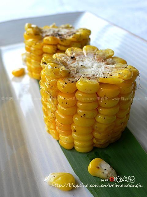 微波炉奶油玉米