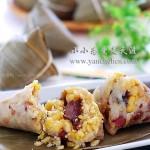 包粽子的方法和步骤(牛肉杂豆粽子)