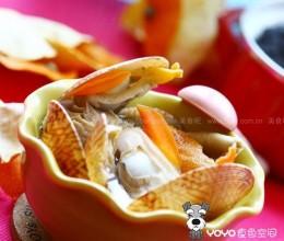 陈皮鸳鸯贝蘑菇汤