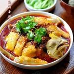 红油口水鸡(荤菜)