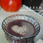 营养黑米糊(早餐食谱-营养无敌的杂粮大补粥)