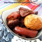红烧肉卤蛋(荤菜)