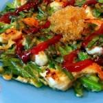 韭菜虾饼(早餐食谱)