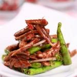 杭椒牛柳(荤菜)
