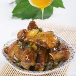 橙汁排骨(荤菜-酸甜可口)