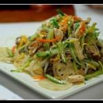 雜菜拌雞胸肉(涼菜)