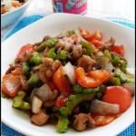 豉椒苦瓜鸡肉(荤菜-减肥食谱)