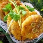 韩式泡菜薯饼(素菜)