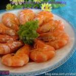 微波盐水虾(海鲜-微波炉菜谱)