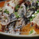 水煮黄辣丁儿(荤菜)