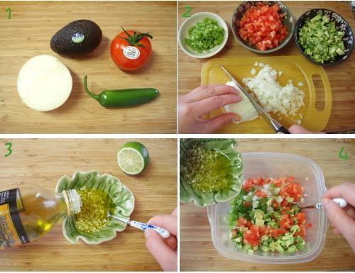 墨西哥牛油果沙拉的做法