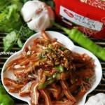 尖椒韩酱拌猪耳(荤菜)