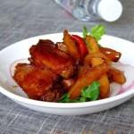 腐乳烧鸡翅(荤菜)